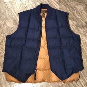Vintage Eddie Bauer Goose Down Puffer Vest Mens XL